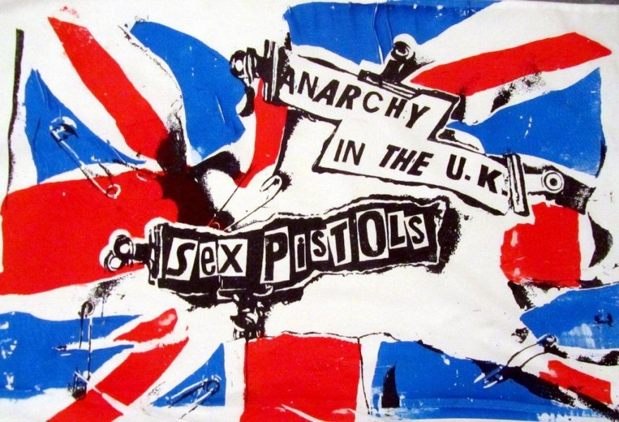 Sex pistols - anarchy in the uk photos 1