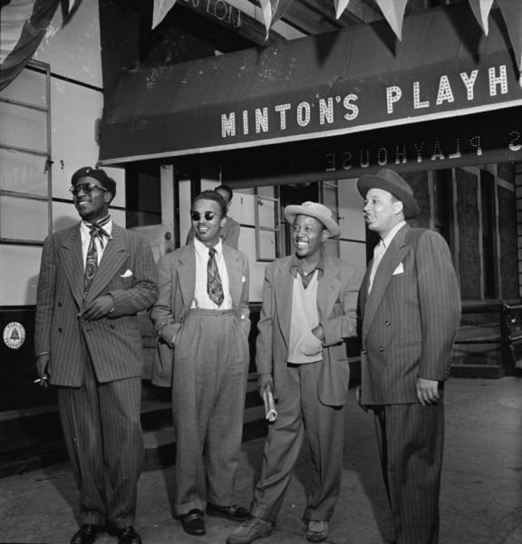 Thelonious Monk en companen in New York, 1947