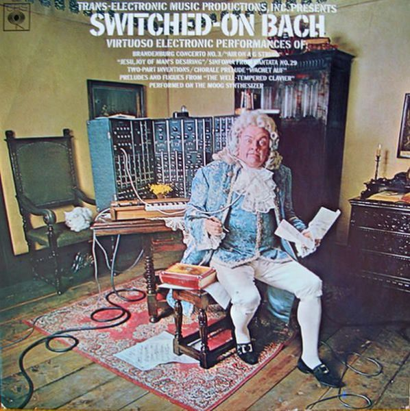 Wendy/Walter Carlos - Switched-on Bach