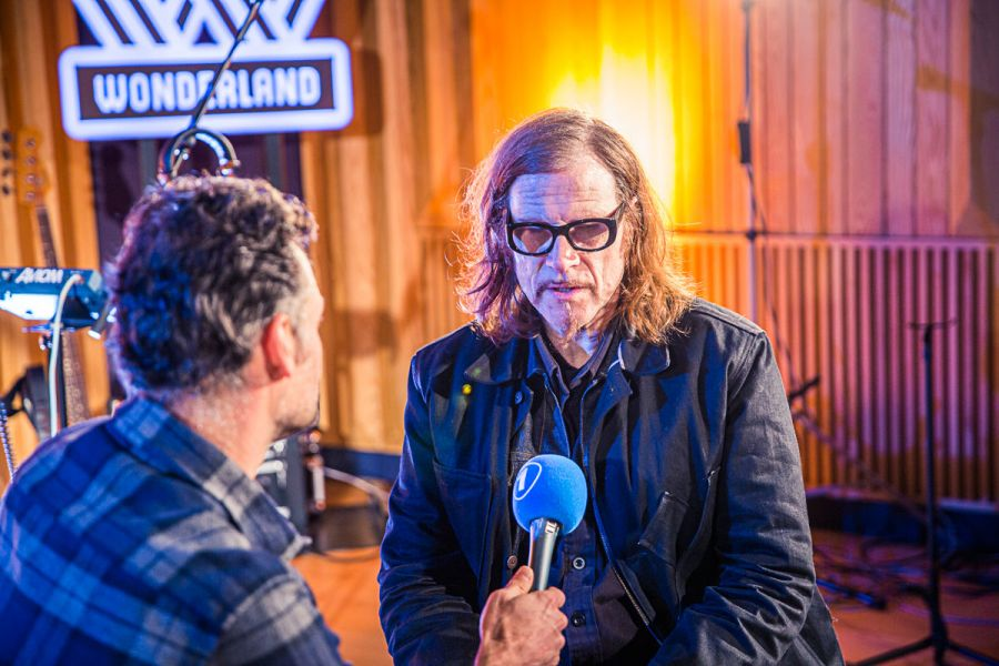 Wouter Mattelin en Mark Lanegan